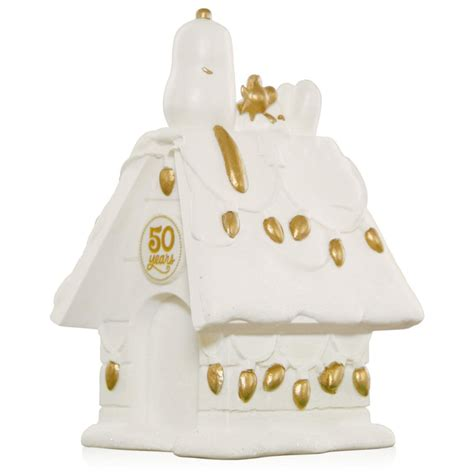 2015 peanuts 50th anniversary doghouse hallmark keepsake