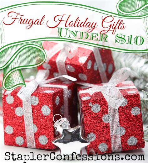 frugal holiday gifts under 10 stapler confessions