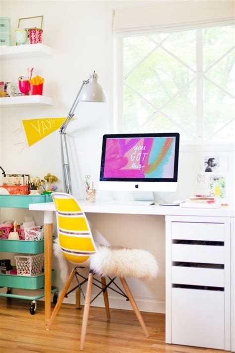 easy  cool diy ikea desk hack shelterness
