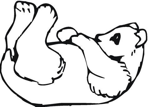 coloring page of a panda free printable panda coloring pages for kids animal place