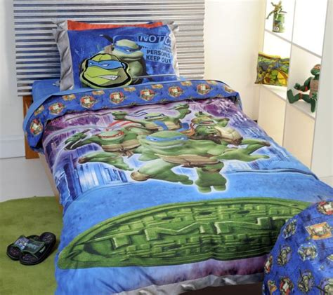 ninja turtles bed set boys bedding 28 superheroes inspired sheets