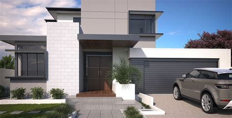 Townhouse Floor Plans With Garage by The New Style Of Luxury Double Storey Homes