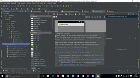 themes en android studio error in changing theme in android studio stack overflow