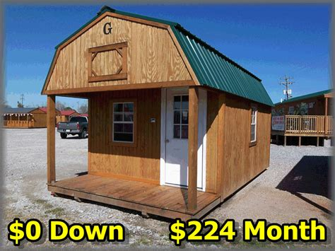 Cabin Shed by Lofted Barn Cabin For Sale Shed Plans Icreatables
