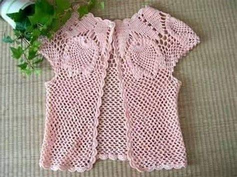 chalecos redondos y rectangulares a crochet mejor mejores 64 im 225 genes de crochet chalecos para ni 241 as en