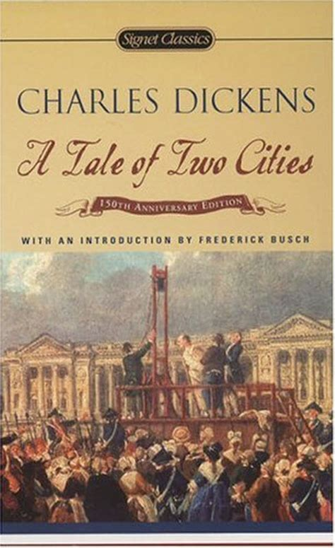 charles dickens biography a tale of two cities a tale of two cities by charles dickens second chance