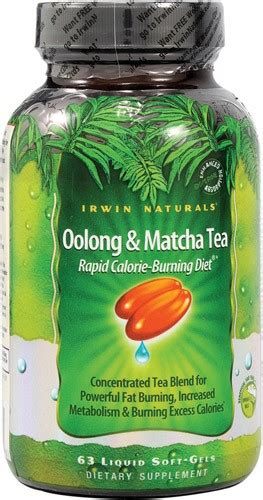 Teh Oolong 63 irwin naturals oolong matcha tea softgels 63 ea jet