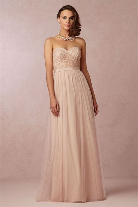 color blush dresses mermaid gown blush dresses for
