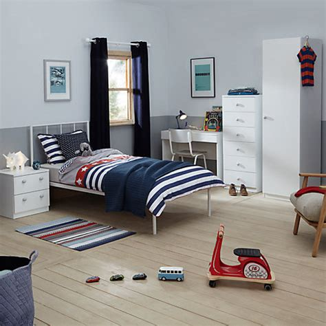 boys bedroom wardrobes buy little home at john lewis mix it grey wooden handle