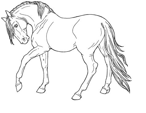 image gallery horse drawings to colour horse coloring pics good you can print coloring pages