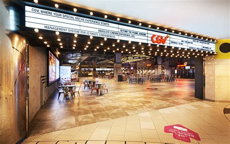 cgv korea the new cgv movie theater has every amenity including