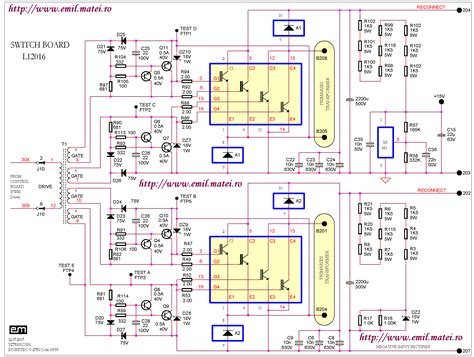 circuitry diagram inverter welder wiring diagram schemes