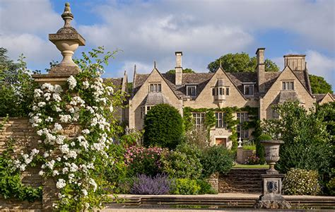 wychwood manor   house  gardens restored