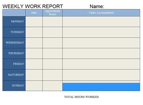 weekly work report sle weekly report format sle 28 images sle business