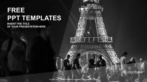 paris france travel ppt templates