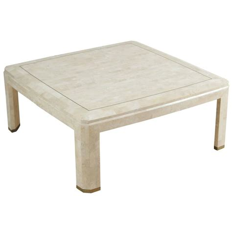 Ivory Coffee Table Maitland Smith Mosaic Square Ivory Coffee Table For Sale At 1stdibs