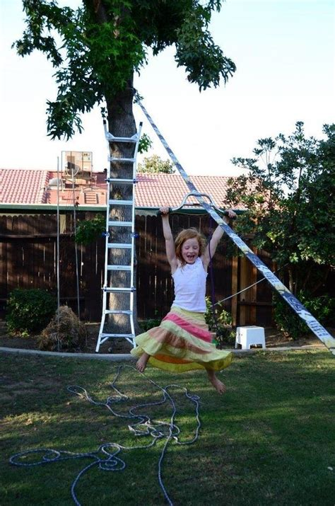 Backyard Zip Line No Trees 94 Best Images About Slackline On Rigs Search