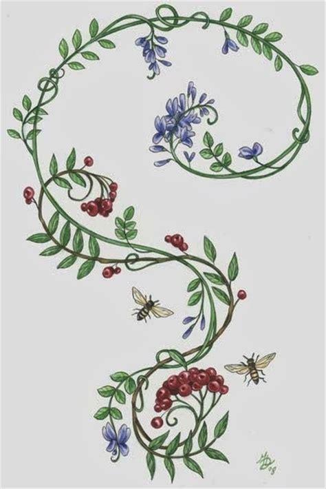 tattoo design vine vine tattoos