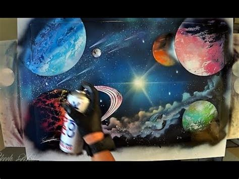 spray painting names eternal galaxy spray paint by skech