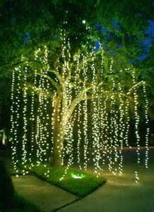 outdoor light strands 1000 ideas about outdoor tree lighting on