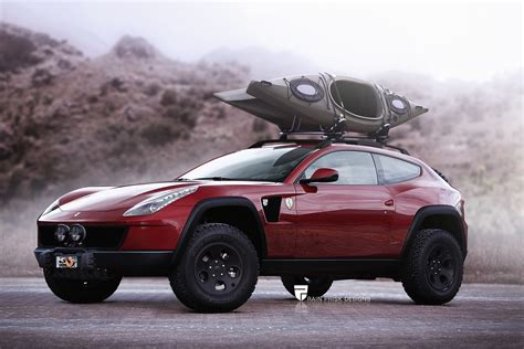ferrari lifted ferrari ff with offroad equipment would make for the