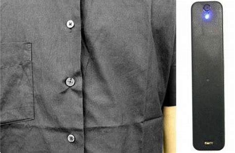 Kamera Pengintai Mini Button Shirt Hitam button shop