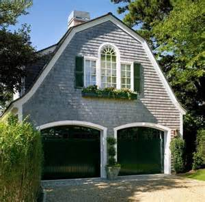 green gambrel roof helene barns garage and carriage houses one car two story prefab garages horizon