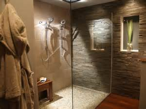 amazing tubs and showers seen bath crashers diy modern stone wall bathroom designs decorating ideas design