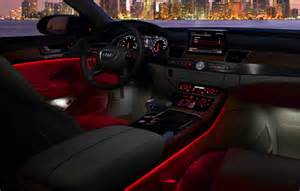 Audi Lighting Package Ambient Lighting X Audi A8 Volldost