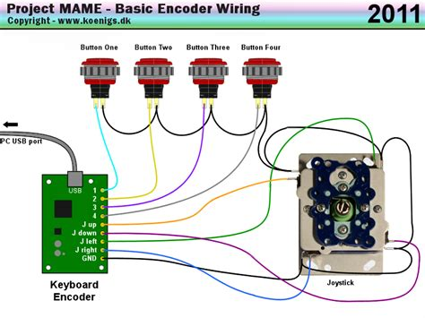 project mame basic arcade and mame joystick and push
