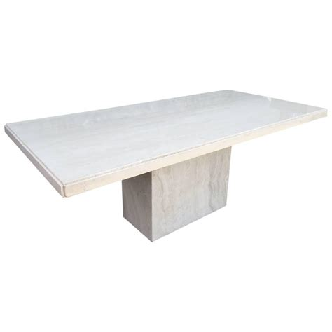 travertine dining room table large italian travertine dining table for sale at 1stdibs
