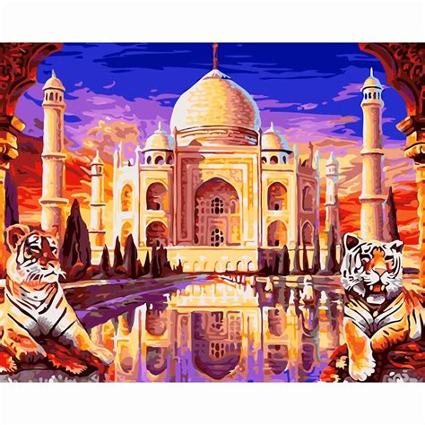 Wholesale Home Decor Online online kaufen gro 223 handel taj mahal malerei aus china taj