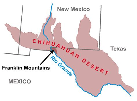 texas desert map chihuahuan desert map www pixshark images galleries with a bite