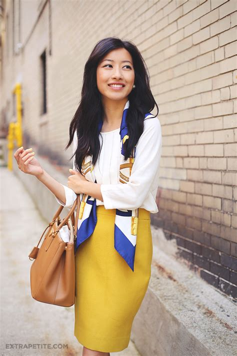 7 Ways To Take Your Office Wear Out On The Town by 7 Ways To Tie A Scarf