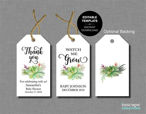 baby shower label template for favors the 25 best baby shower templates ideas on