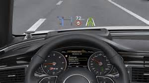Audi A6 Heads Up Display Wy蝗wietlacze Up Display Hud W Samochodach
