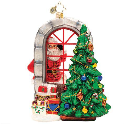christopher radko a glimpse of christmas ornament
