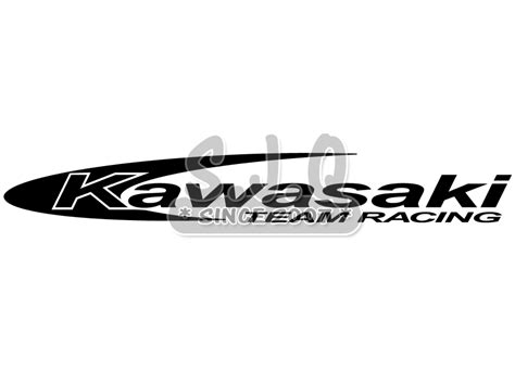 Sticker Kawasaki Racing by Sticker Jetski Kawasaki Team Racing Boutique En Ligne
