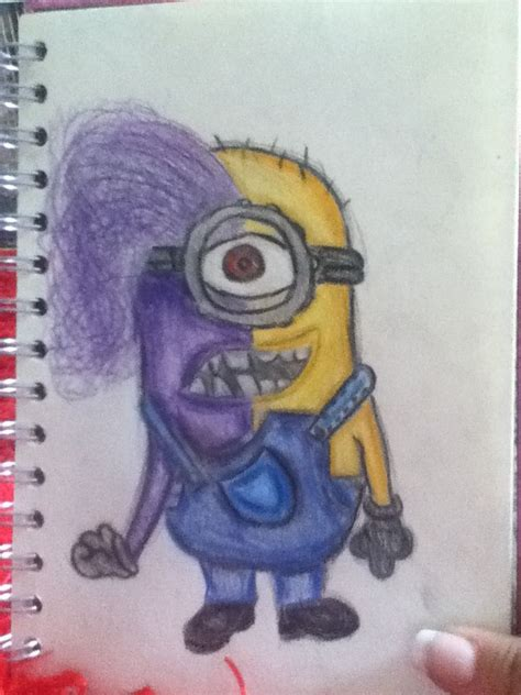 my drawing of despicable me 2 draw