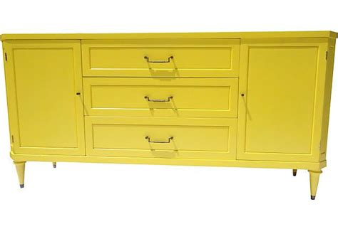 Yellow Buffet Cabinet Yellow Buffet Aaahmazing Bungalow Style Pinterest