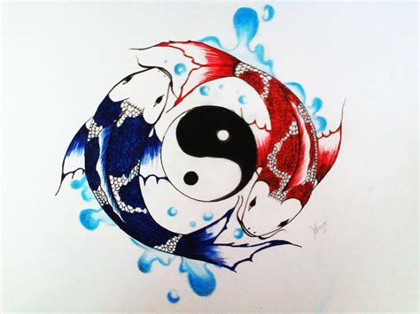 tattoo nightmares koi yin yang oltre 1000 idee su tatuaggi segno dei pesci su pinterest
