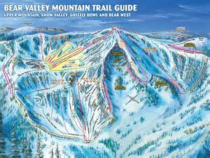 northern california ski resorts map valley piste map plan of ski slopes and lifts