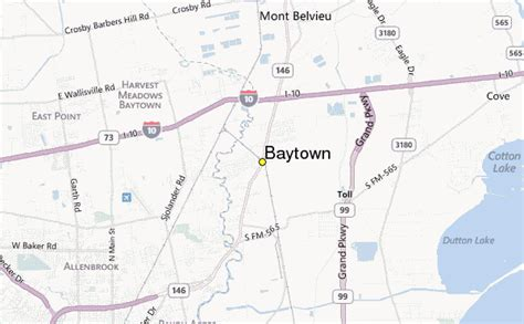 map of baytown texas baytown weather station record historical weather for baytown texas