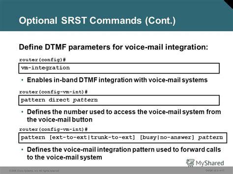 vocal pattern definition презентация на тему quot 169 2006 cisco systems inc all