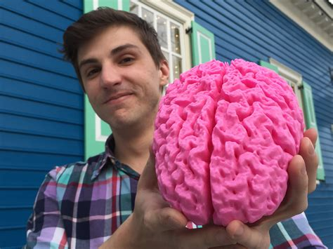 How To Make A 3d Model Out Of Paper - converting mri brain scan into a 3d printed model