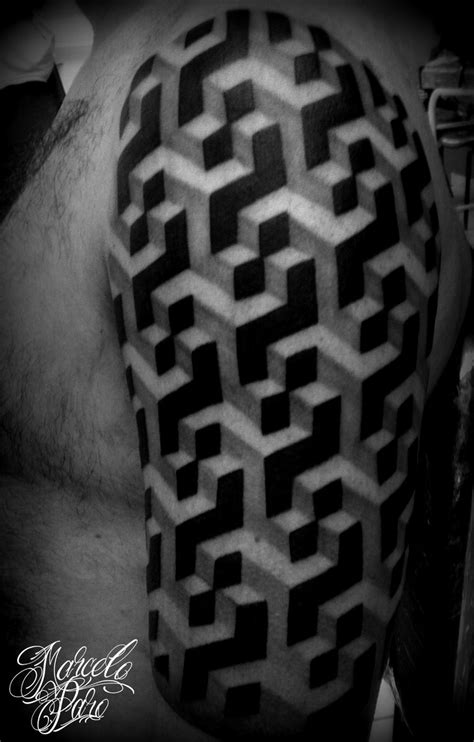 escher tattoo escher tattoos marcelo paro