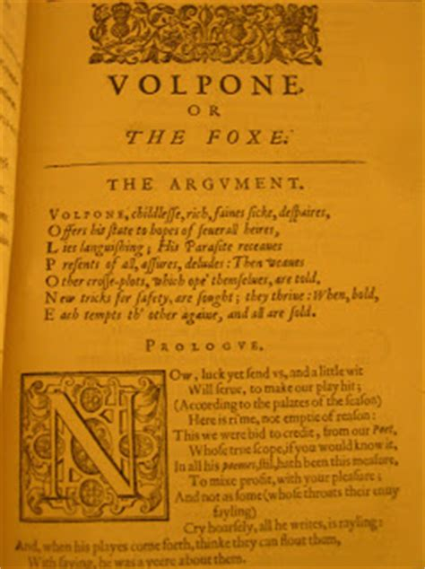 volpone books the spirit of satire in the book department