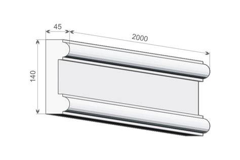 Fassadenstuck Styropor by Fassadenstuck Le15 Fassadenleiste Styropor