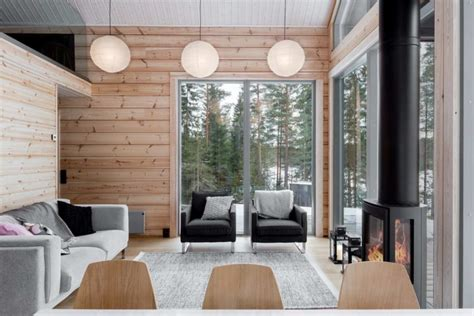 ek home interiors design helsinki modern log villa in central finland by pluspuu oy architect