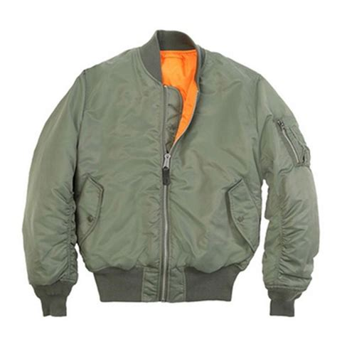 Jaket Boomber Navy 5 mens outdoor classic bomber flight jacket pilot jacket air tactical jacket orange
